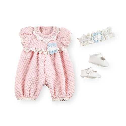 You Amp Me Baby So Sweet Premium Doll 3 Piece Pink White
