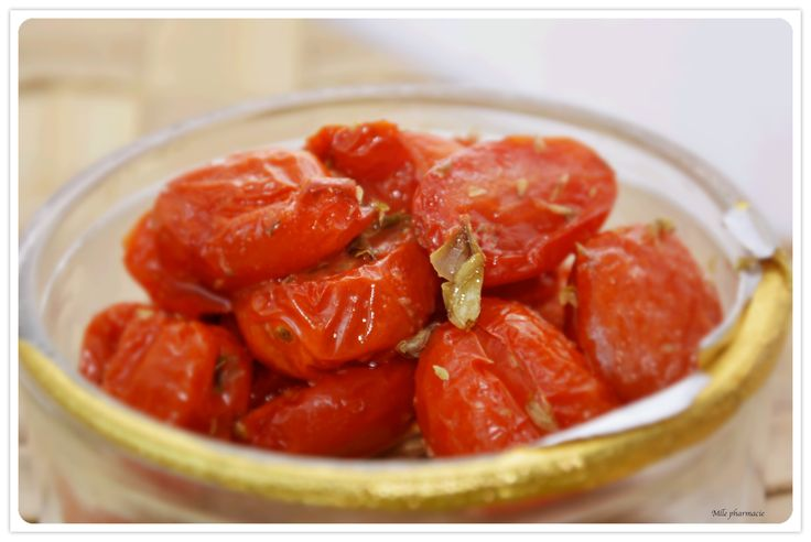 Pomodorini confit / Confit cherry tomatoes
