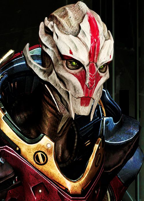 My favorite character and she is only in it for DLC... Ugh! MORE FEMALE TURIANS!!!!!