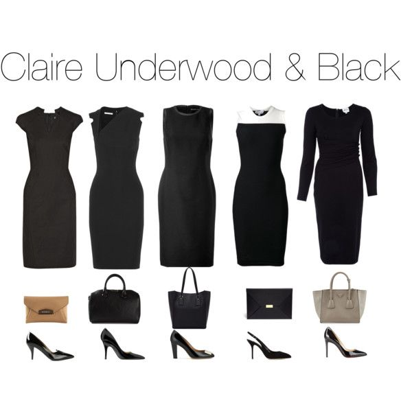 Claire Underwood & Black