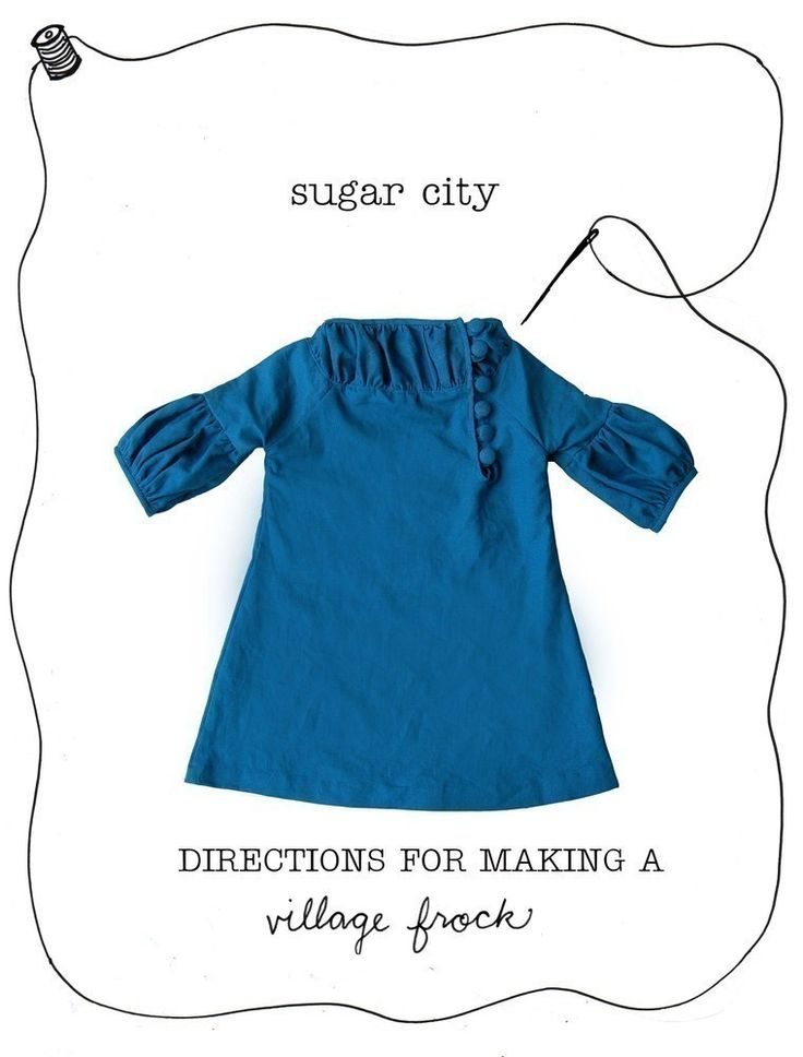 Image of the Village Frock pattern
