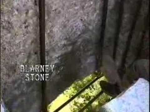 Kissing the Blarney Stone, Blarney Castle, Ireland. Good video. loved being there