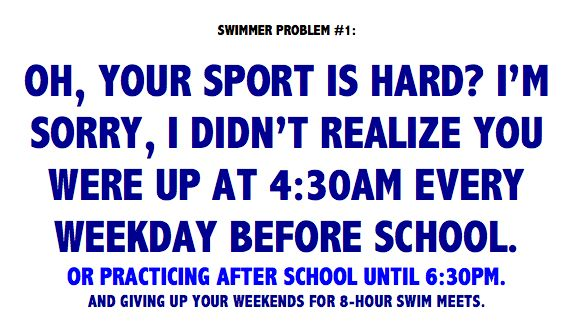 #swimmerprobs sums it up pretty well :)