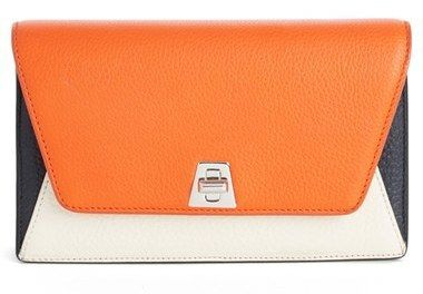 VIDA Leather Statement Clutch - anouk leather clutch by VIDA