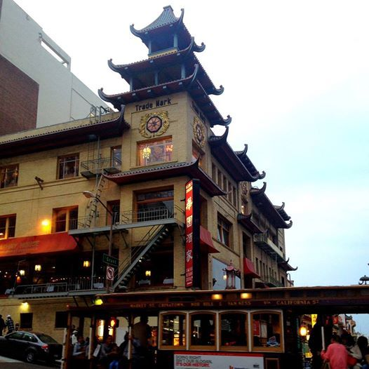 Take a day trip to explore the city. Next stop, Chinatown! #SanFrancisco