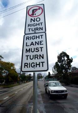 I think the person who made this sign must have been talking to my GPS....