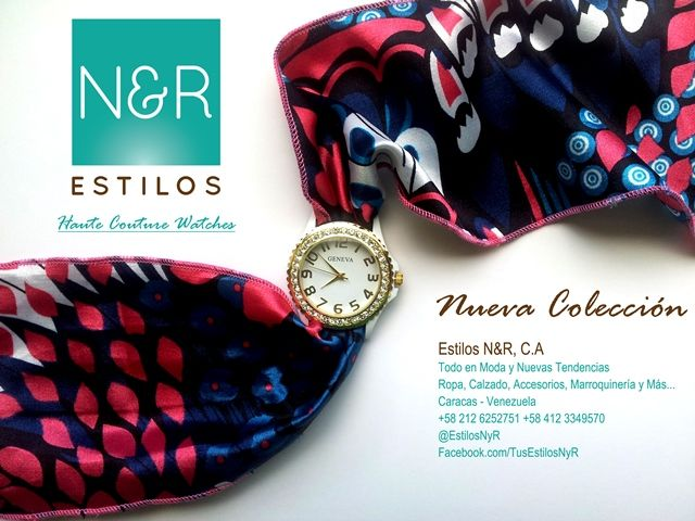 Relojes que marcan la pauta de la moda venezolana!!!