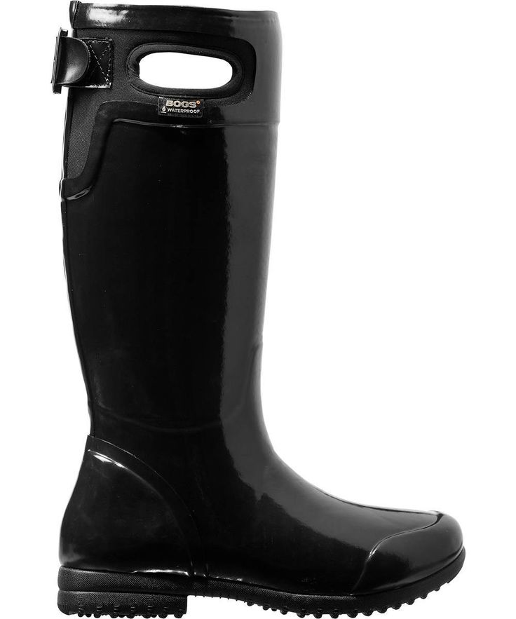 Bogs Women's Tacoma Insulated Rain Boots - Black