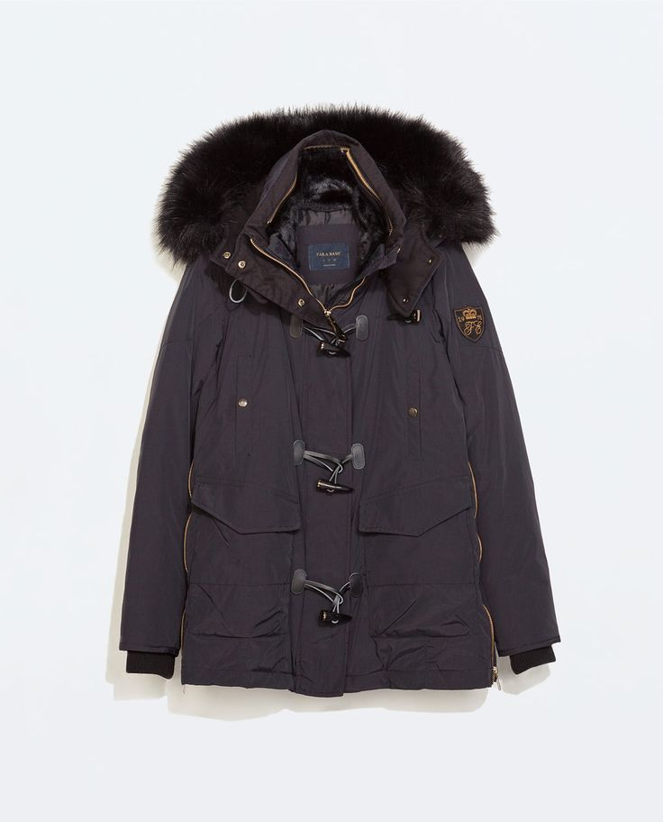 Image 6 of PUFFER PARKA WITH TOGGLES from Zara