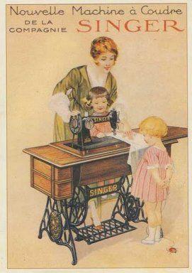 La publicidad de nuestro modelo en 1920. #maquinasinger #memorias #vintage