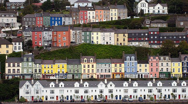 You'll find Kinsale in the south of Ireland, just a few miles from Cork. It's a harbor town complete with beaches, chilly breezes, and excellent seafood