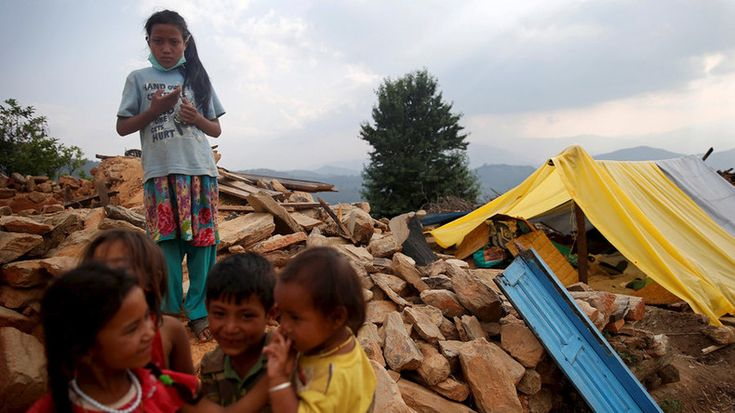 Vulnerable children, including child survivors of last year's earthquake in Nepal, are being sold to British families as domestic slaves, an investigation by the Sun newspaper has claimed.