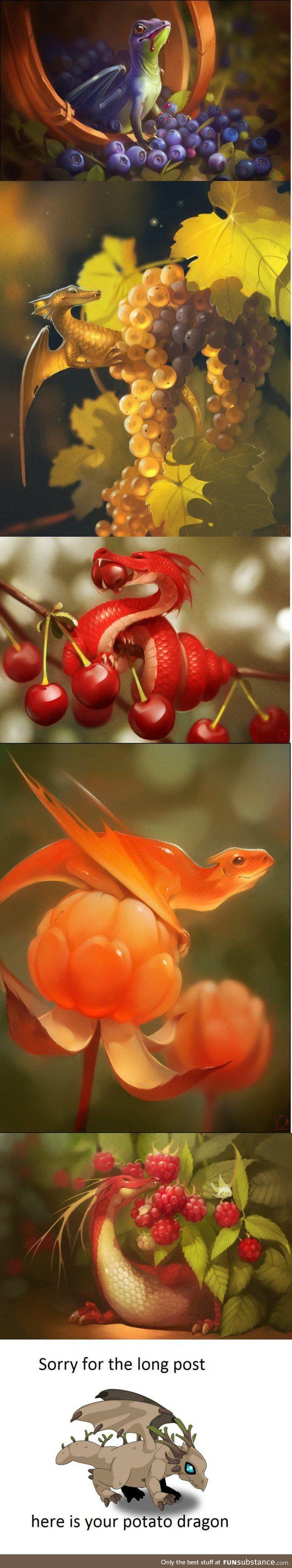 Dragon Fruit Made by Alexandra Khitrova