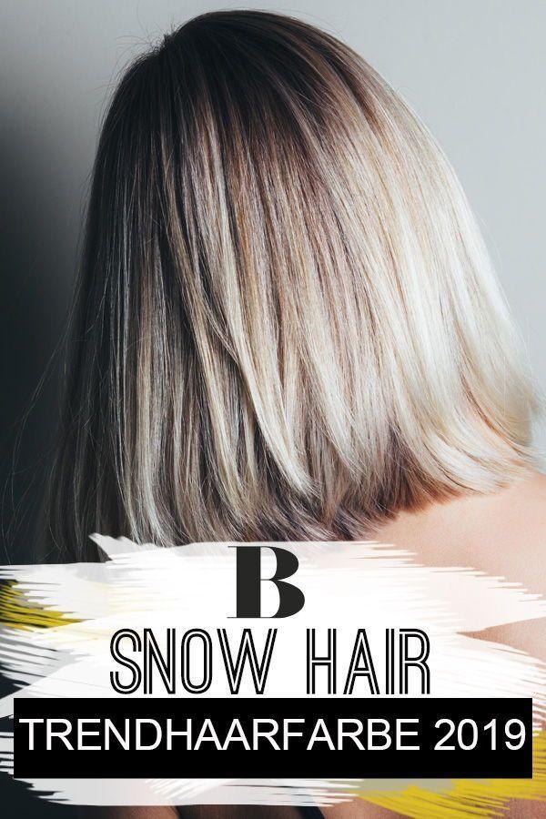 Snow Hair: Mit dieser Trendhaarfarbe starten wir ins neue Jahr