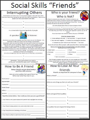Worksheets Social Skills Worksheets For Children 1000 ideas about social skills activities on pinterest stories and thinking