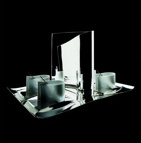 TEA AND COFFEE TOWERS for ALESSI   FUKSAS