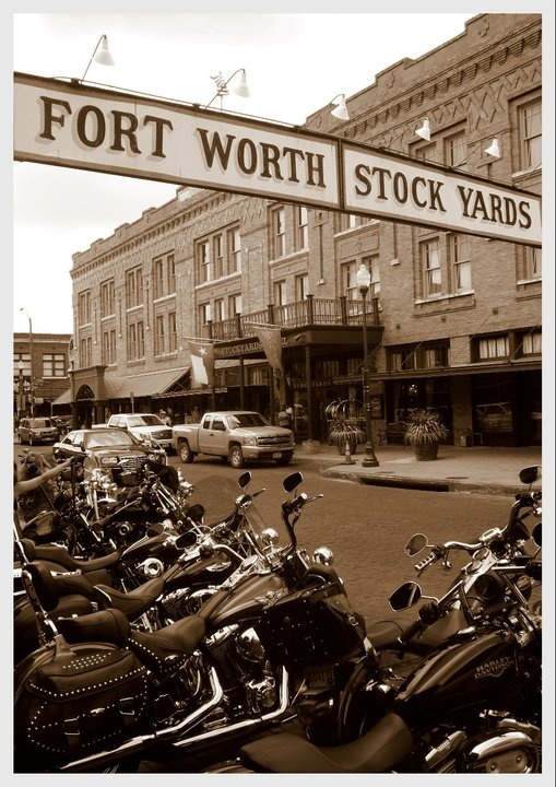 Stock Yards, Fort Worth, TX.