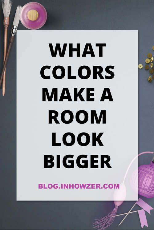 Find out the best paint colors for small rooms to make - How to make a small space look bigger ...