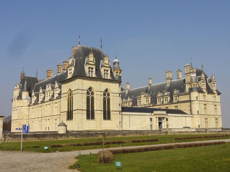 Шарль Байяр, Жан Бюллан. Замок Экуан. 1538 — 1578 гг. Франция