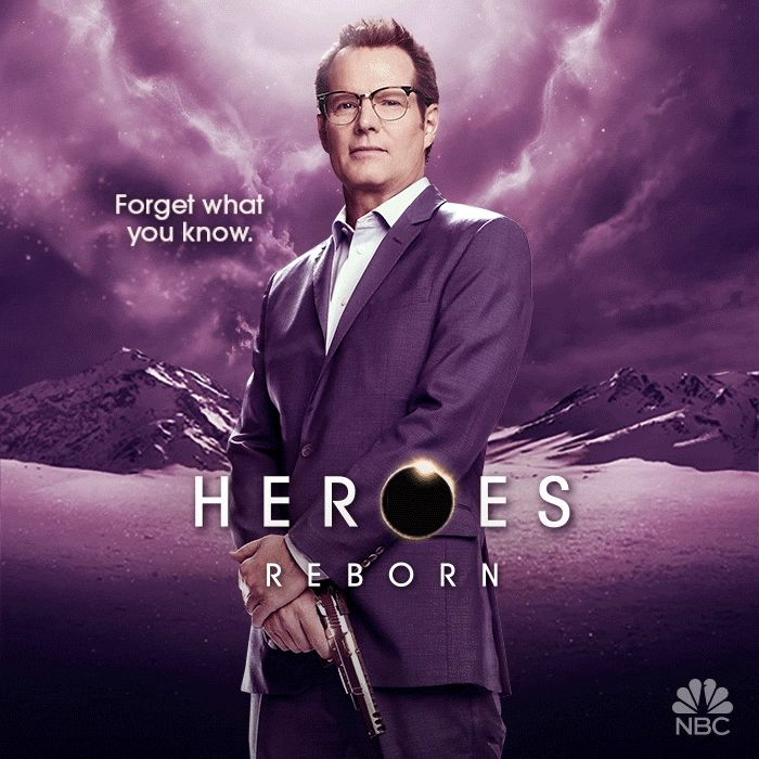 'Heroes: Reborn' unveils new H.R.G. art | EW.com #heroesreborn #tvseries