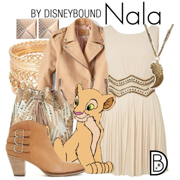 Nala by leslieakay on Polyvore featuring TFNC, FOSSIL, Barbara Bonner, Alkemie and Michael Kors