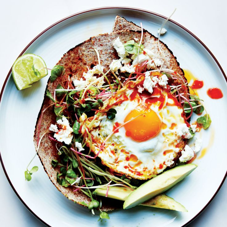 To cook the perfect olive oil–fried egg, make sure the skillet is really hot.