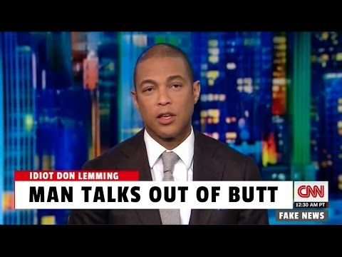 "CNN's Don Lemon had perhaps the dumbest response to Trump's first Presidential Address to Congress. He used ""a lot of big words,"" says Lemming, and it gets worse from there."