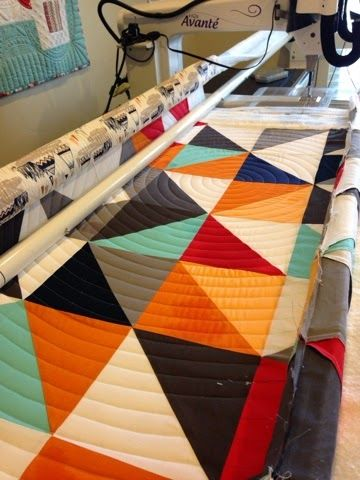 How to quilt concentric circles on a Longarm Machine