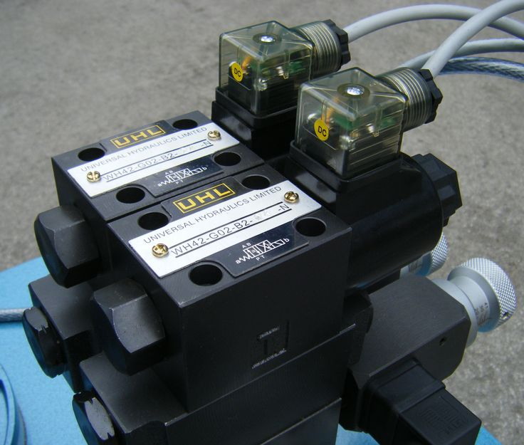 4weh Directional Valve Are Electric Hydraulic Control