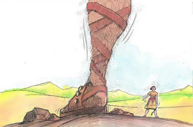 Bible Story of David and Goliath | Child Bible Story Online