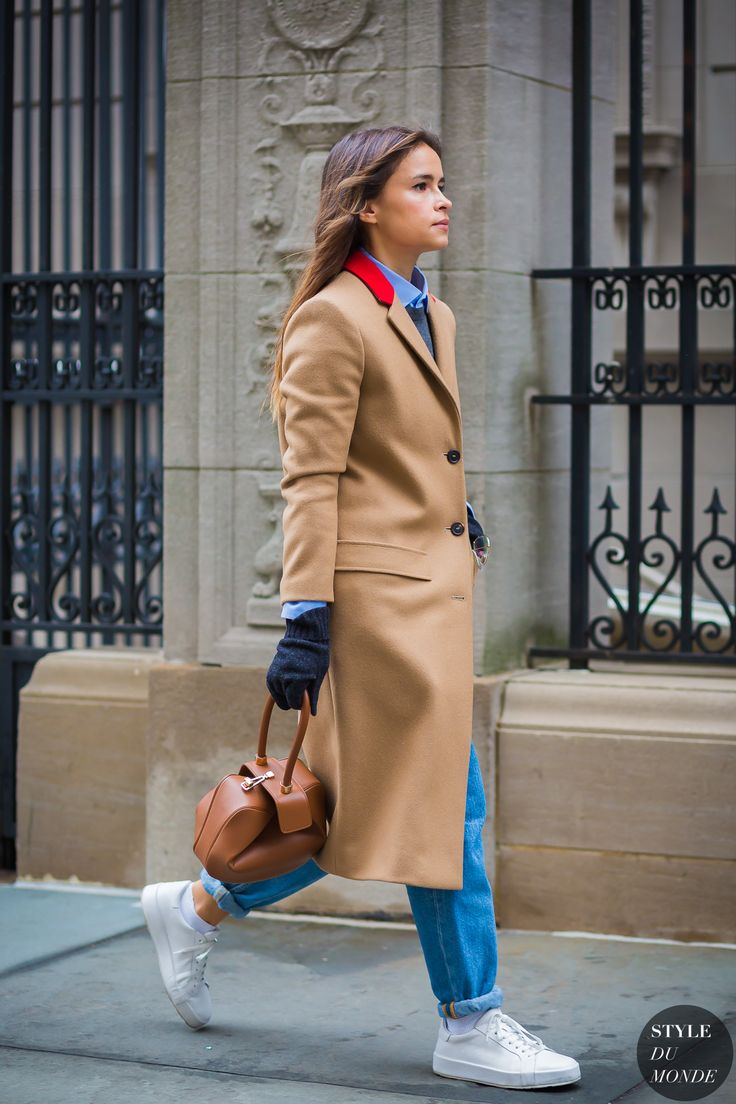 New York Fashion Week FW 2016 Street Style: Miroslava Duma