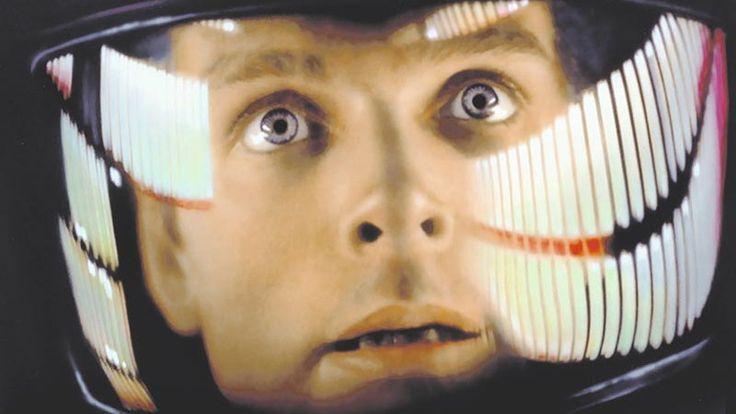 """Keir Dullea jako Dave Bowman w filmie """"2001: Odyseja kosmiczna"""""""