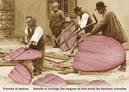 Travaux et saisons : Retaille et cloutage des langues de bois avant les élections nouvelles / Plonk et Replonk