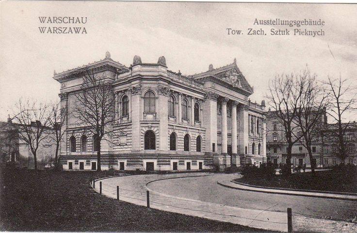 AK, Foto, Warschau - Ausstellungsgebäude Tow. Zach. Sztuk Pieknych, (D)5026-9 | eBay