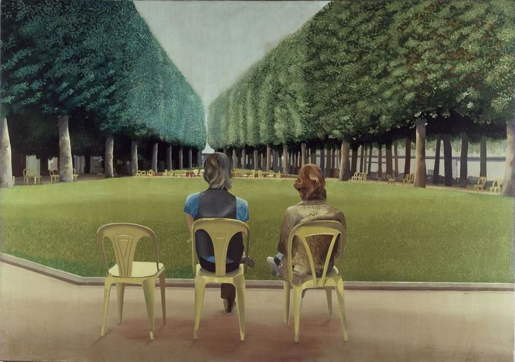 David Hockney Le Parc des Sources Vichy
