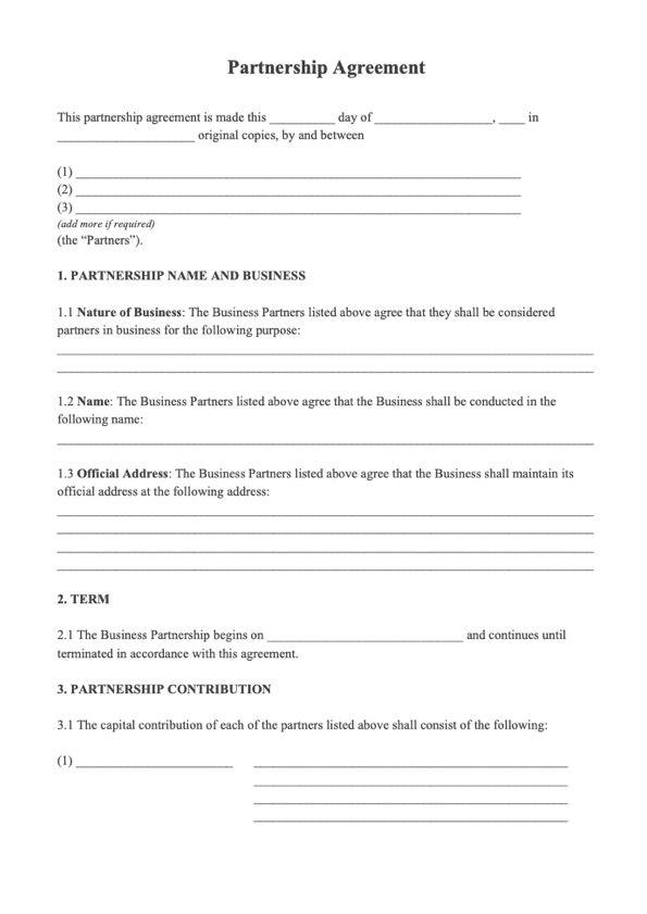 Limited Liability Partnership Balance Sheet Format ...