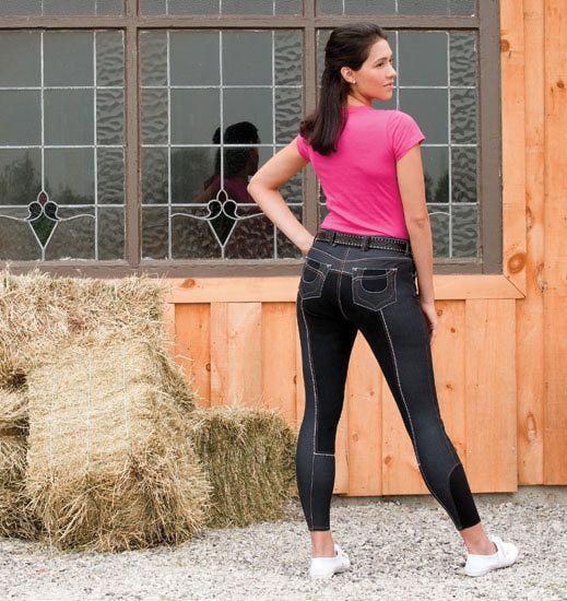 Equestrian Brands International ™ - ELATION DENIM SOHO FULL SEAT BREECH