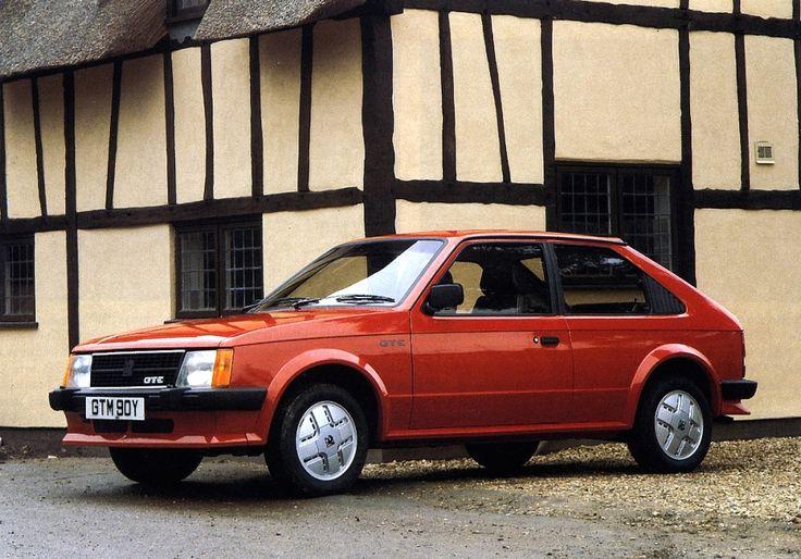 1983 Vauxhall Astra Mk I GTE 3-door Hatchback