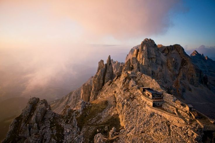 RIFUGIO TORRE DI PISA  Latemar, Dolomiti Unesco Heritage, Val di Fiemme, Italy www.visitfiemme.it