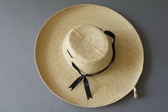 Chapeau de cow-girl Garni  des années 1950 par cubevintage