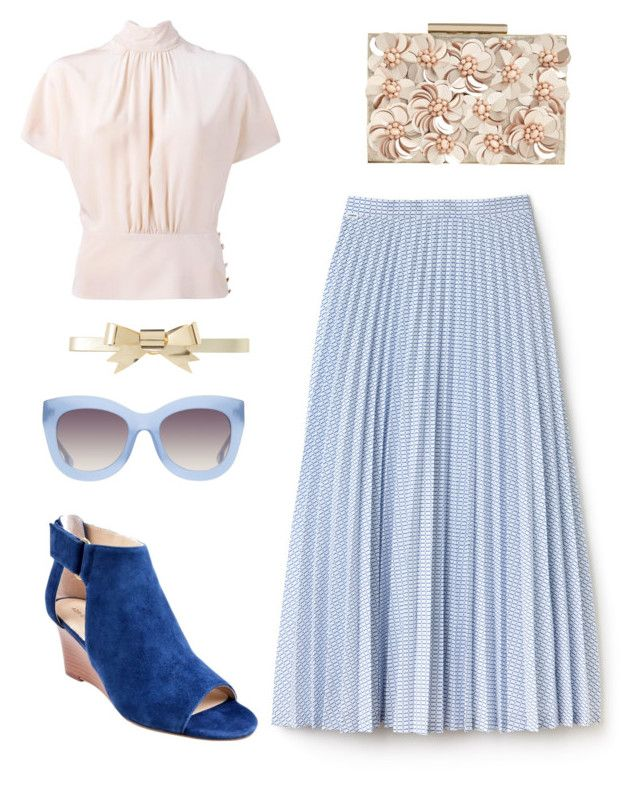 """""""Style Inspiration"""" by rebeccaodil on Polyvore featuring Lacoste, RED Valentino, Adrienne Vittadini, Phase Eight, Rodarte and Alice + Olivia"""