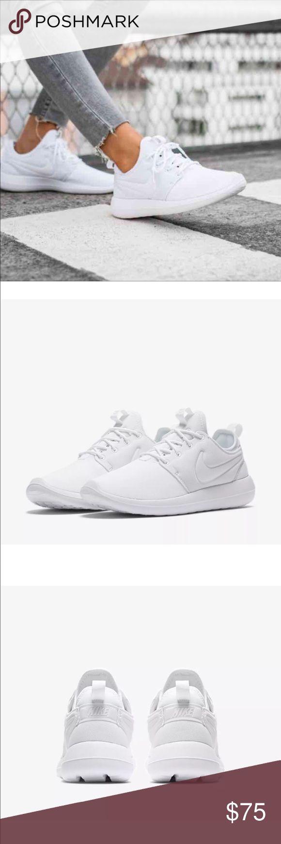 NIKE Roshe 2 White Sneakers Brand new in box Nike Shoes Sneakers