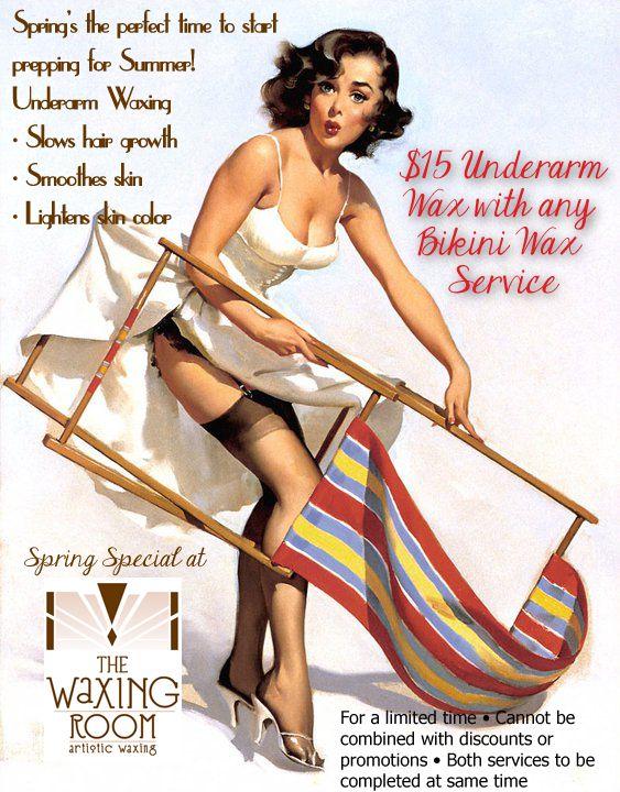 Bikini wax service would