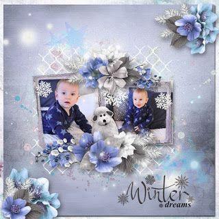 RAK for a friend Ekaterina ♥  freebie * Winter Dreams* by Rosie Designs