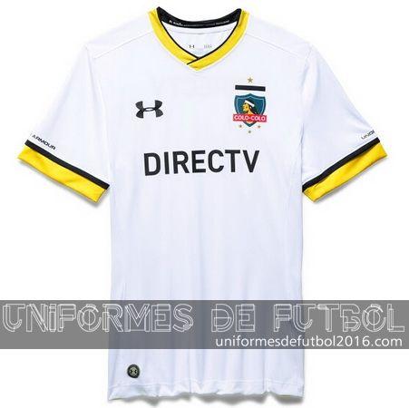 Jersey local para uniforme del Colo-Colo 2016
