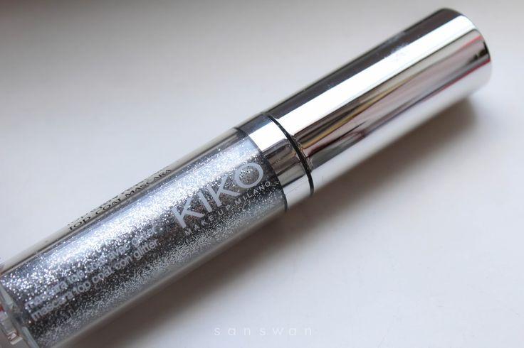 Parliamo di #glitter e di mascara della #Kiko. Aprite il link per vedere gli #swatches
