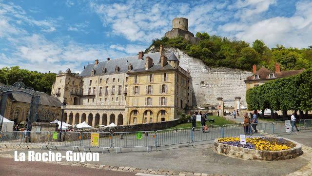 La Roche-Guyon #Voyages #France elisaorigami.blogspot.com