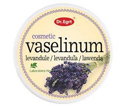 Kozmetická vazelína slevanduľou