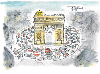 Mr Chicken Goes To Paris by Leigh Hobbs @booksillustrated.com.au