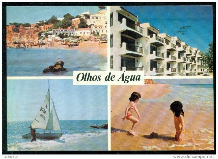 Portugal Post Card 1970 Algarve Olhos De Agua